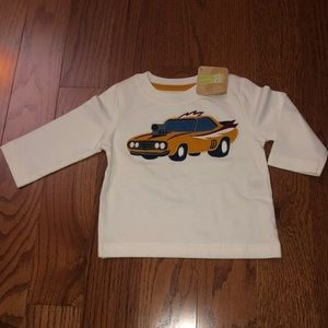 Crazy 8 NWT Car Long T-Shirt 3-6M Baby Boy